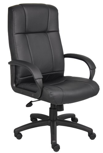 (Boss Office Products B7901 Caressoft Executive High Back Chair in)