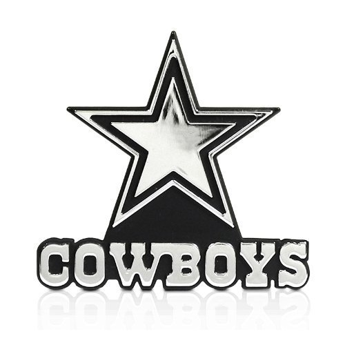 NFL Dallas Cowboys 3D Chrome Metal Car - Outlet Dallas Shopping