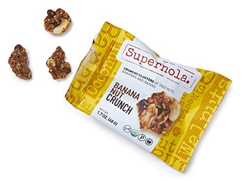 Supernola Healthy Paleo Granola Delicious High Protein Gluten Free Vegan-Friendly Grab & Go Snack Mix