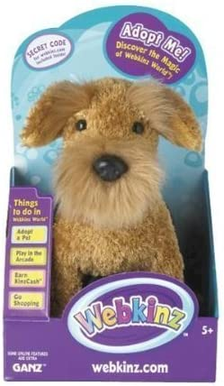 Webkinz Airedale Terrier in Box