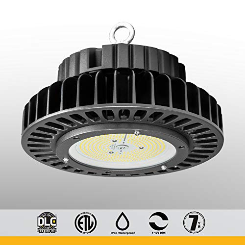 iBright Commercial Grade UFO High Bay LED