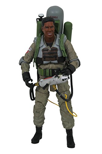Diamond Select Toys Ghostbusters 2 Select: Winston Zeddemore (Slime-Blower Version) Action Figure