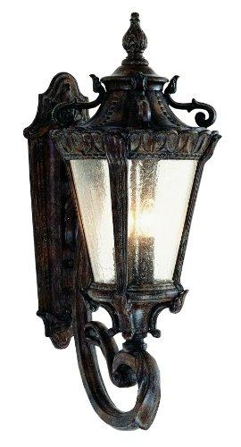 Cheap Trans Globe Lighting 4840 PA Outdoor Heritage 28.5″ Wall Lantern, Patina