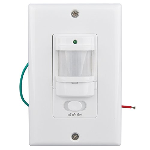 Wall Motion Sensor Light Switch: Sensky BS033C Motion Sensor Light Switch, Occupancy Sensor Switch for  Corridor and Staircase (Neutral Wire Required): Amazon.com: Industrial &  Scientific,Lighting