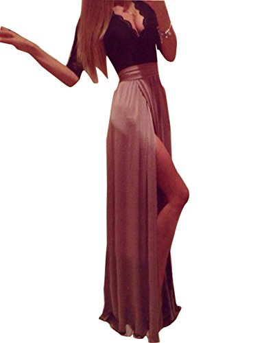 long black and pink prom dresses - 7
