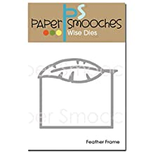 Paper Smooches Die-Feather Frame