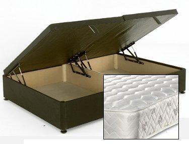 Super Apollo Beds Cupid 4Ft Small Double Divan Ottoman Storage Bed Inzonedesignstudio Interior Chair Design Inzonedesignstudiocom