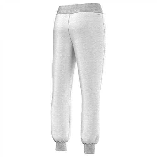 adidas ESS Cuffed Pant - Pantalón para mujer gris claro jaspeado