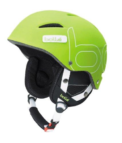 - Bolle B-Style Ski Helmet (Soft Green, 58-61-cm)