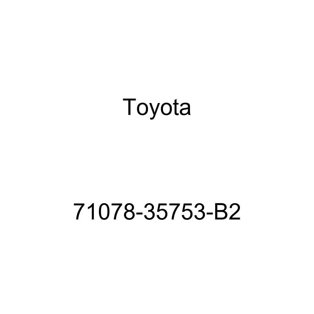 TOYOTA Genuine 71078-35753-B2 Seat Back Cover