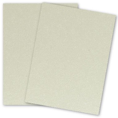 Metallic 8.5X11 Card Stock Paper - QUARTZ - 105lb Cover (284gsm) - 25 PK