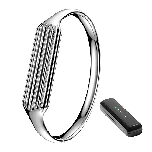 Hero Iand Wrist Band Watch Strap for Fitbit Flex 2 Fashion Accessory Bangle Watch Strap Stainless Steel Accessory Premium Materials Strap for Fitbit Flex2 Watchand