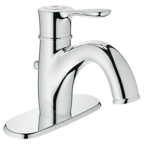 Parkfield Centerset Single-Handle Single-Hole Bathroom Faucet With Escutcheon - 1.2 GPM - Bathroom Escutcheon