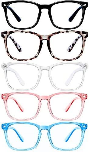 Anti Blue Light Blocking Glasses for Women Man Teens Computer Glasses