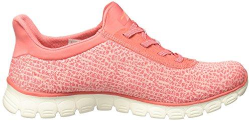 Skechers Vrouwen Ez Flex 3,0 Swift N Sluwe Mode Sneaker Koraal