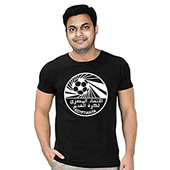 FMstyles Egypt Football Team Fan Black Unisex Tshirt - FMS291