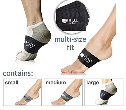 8b1fdad1ed7 Plantar Fasciitis Support Braces - Fast Foot Pain Relief - Use as Night  Splint