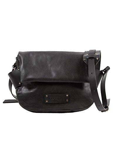 Hüftgold Bag No. Hüftgold Bag No. 103 - Bolso De Hombro De Cuero Mujer Gris - Grau (dark Grey 96) Women Gray Leather Shoulder Bag - - 103 Grau (dark Gray 96)