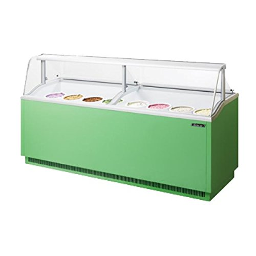 Turbo Air TIDC-91G Ice Cream Dipping Cabinet in Green ()