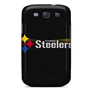 New Tef2243jfpD Pittsburgh Steelers Skin Cases Covers Shatterproof Cases For Galaxy S3