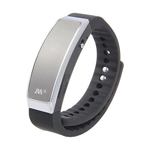 JNN Digital Aufnahmegerät Voice Recorder Smart Armband USB Speicher Version 2.0 4 GB Schwarz