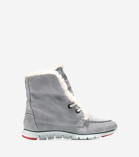 Cole Haan Mujer S Zerogrand Shearling Impermeable Chukka Impermeable Ironstone-vapor