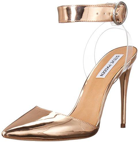Steve Madden Women's Diva D'Orsay Pump, Rose Gold, 7.5 M (Diva Rose)