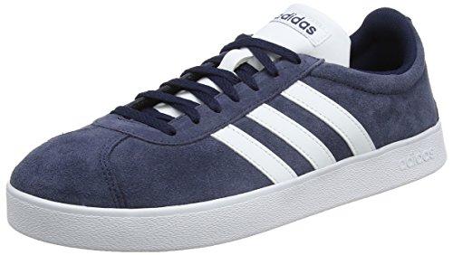 adidas Herren VL Court 2.0 Fitnessschuhe Blau (Maruni/Ftwbla 000)
