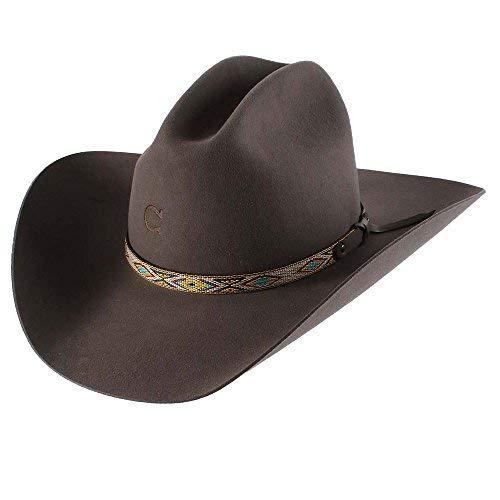 Charlie 1 Horse ''Runaway Gray'' Ladies Felt Cowboy Hat (6-3/4)