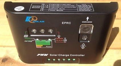 Regolatore di carica a per kit fotovoltaici baita barche casette