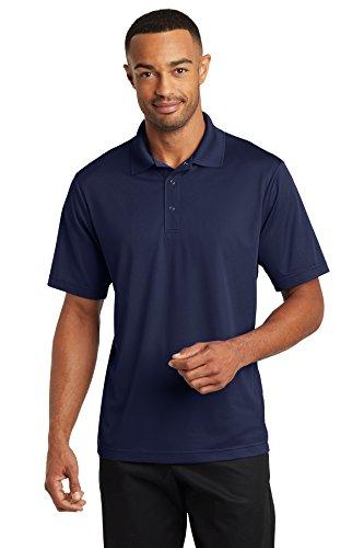 Three Button Uniform - Averill's Sharper Uniforms Men's Server Three Snap Button Polo Shirt XL Navy