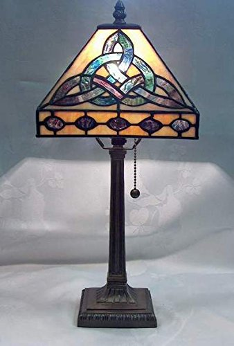 Celtics Lamp (Trinity Lamp Tiffany Style 18