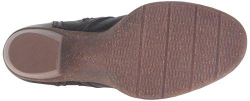 Clarks Womens Carleta Paris Boot Black Leather