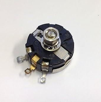Clarostat 58C2-6 - Potenciómetro con eje de cierre, alambre industrial, 4 W, 6 ohmios: Amazon.es: Amazon.es
