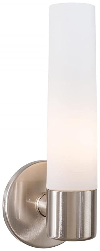 George Kovacs P5041-084 Saber 1 Light Bath Fixture Brushed Nickel  sc 1 st  Amazon.com & George Kovacs P5041-084 Saber 1 Light Bath Fixture Brushed Nickel ...