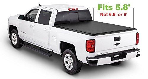 Tonno Pro Tonno Fold 42-109 TRI-FOLD Truck Bed Tonneau Cover 2014-2018 Chevrolet Silverado/GMC Sierra 1500, 2015-2018 Silverado 2500, 3500/GMC Sierra 2500 HD, 3500 | Fits 5.8' (3500 Tonno Pro Tri Fold)