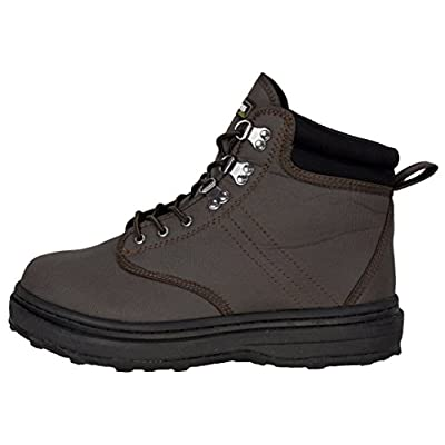 Compass 360 Stillwater II Cleated Wading Shoe (11): Sports & Outdoors