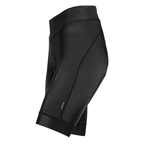 Elite Cycle Bib Short - Shebeest Century Elite Shorts with Antibacterial Century Stretch Pad (Large) Black