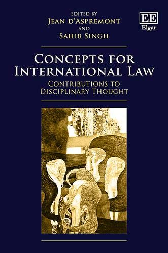 Pdf Law Concepts for International Law: Contributions to Disciplinary Thought