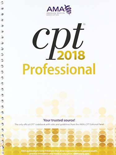 CPT 2018 Professional by American Medical Association