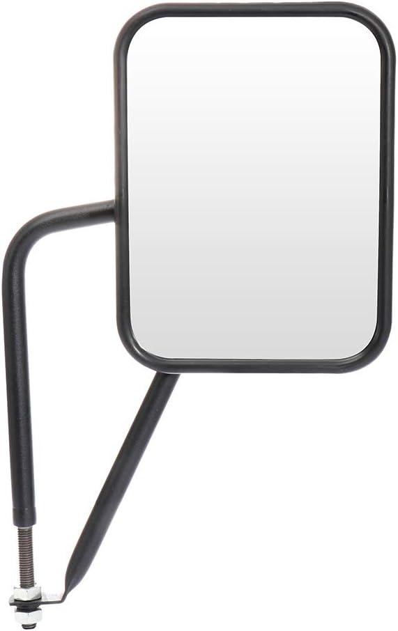 Door Off Mirror ZENITHIKE Fit for 1997-2017 Jeep Wrangler JKU JK CJ YJ TJ Quick Release Mirrors Doorless Side Mirrors Textured Black