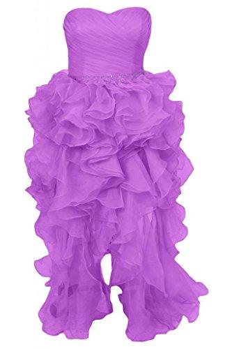 Cocktail linea Vestito da Pantaloncini Party Sweetheart della da Sunvary donna vestito Dress Purple AfR8wWIqx