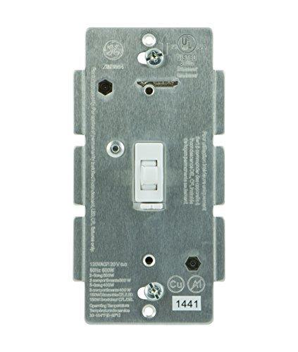 GE 12729  Z-Wave Toggle LED/CFL Dimmer, White ~ Jasco 45742