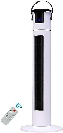 Opinión sobre FHDF Ventilatori oscillanti silenziosi con telecomando, potenti ventole di raffreddamento táctil de panel 3 tempi senza vento 3 velocità con timer 12H per camere da letto e ufficio, H118cm(45W, blanco