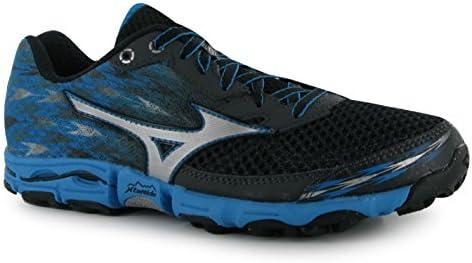 Mizuno Wave Hayate 2 Zapatillas de running para mujer Gry/zapatillas azules zapatillas de deporte para, gris y azul