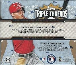 (2014 Topps Triple Threads Baseball box (2 pk))