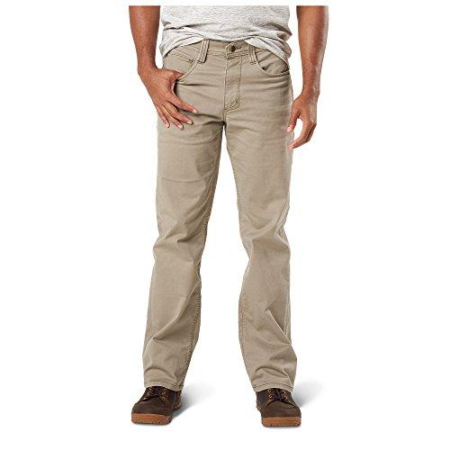 5.11 Men' Defender-Flex Pant-Straight, Stone, 38Wx34L