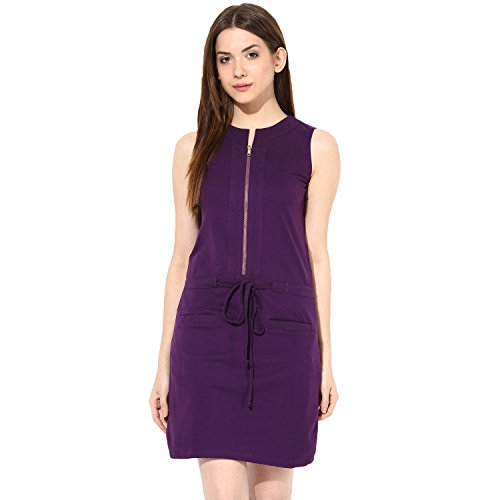 Round Neck Sleeveless Dress - 6