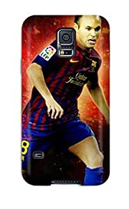 Fashionable LvgpyxN321tMuuj Galaxy S5 Case Cover For Andres Iniesta Barcelona Protective Case by supermalls