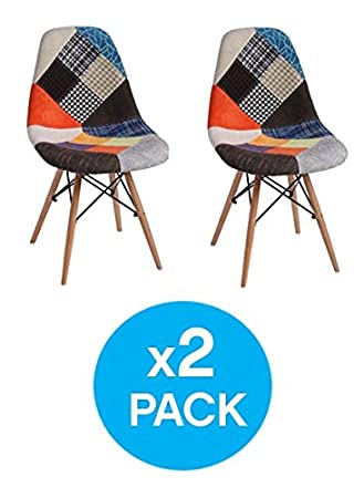 Woopi Lote 2 sillas Patchwork